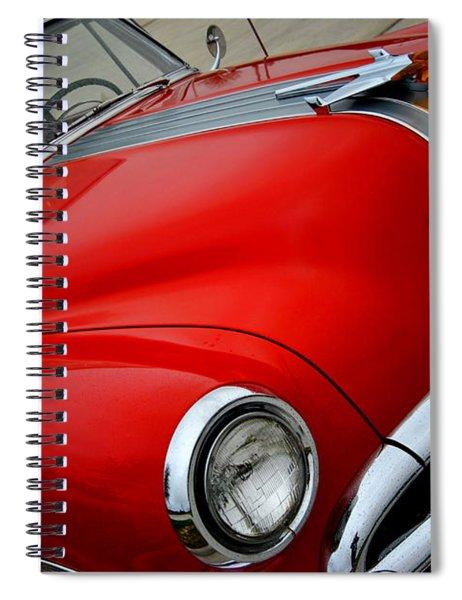 Pontiac Chieftain 1954 Front Spiral Notebook