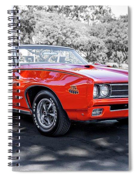 Pontiac G T O Judge Convertible Spiral Notebook