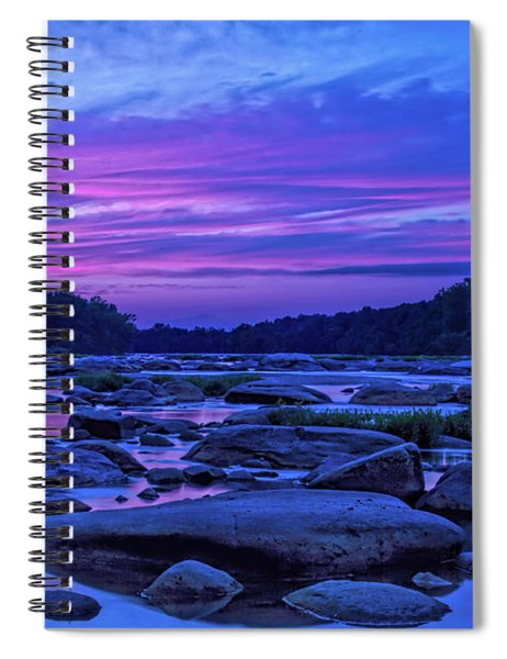 Pony Pasture Sunset Spiral Notebook