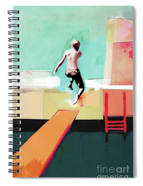 Pool Day Spiral Notebook