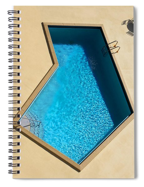 Pool Modern Spiral Notebook