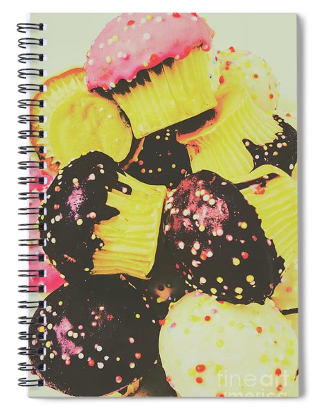 Pop Art Bake Spiral Notebook