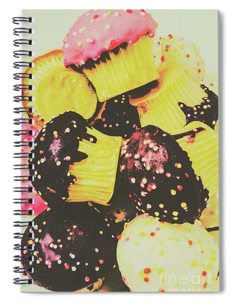 Pop Art Bake Spiral Notebook
