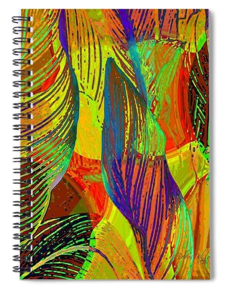 Pop Art Cannas Spiral Notebook