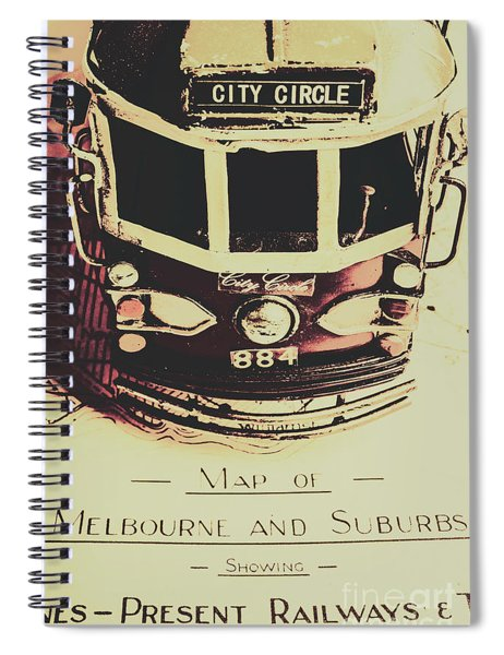 Pop Art City Tours Spiral Notebook
