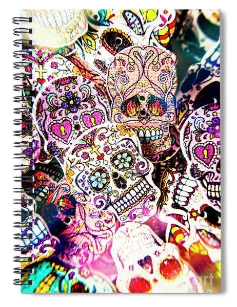 Pop Art Horrors Spiral Notebook
