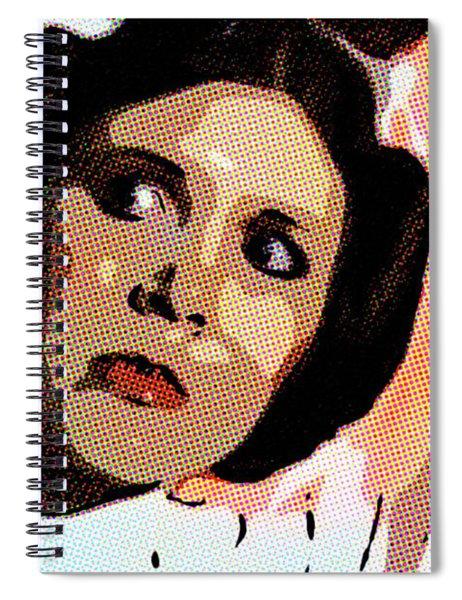 Pop Art Princess Leia Organa Spiral Notebook