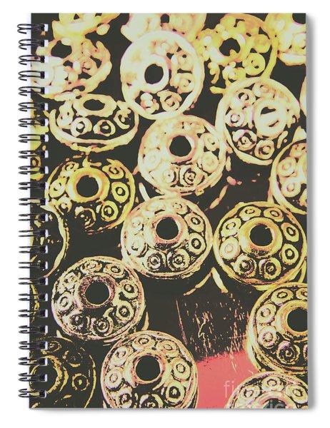 Pop Art Space Invaders Spiral Notebook