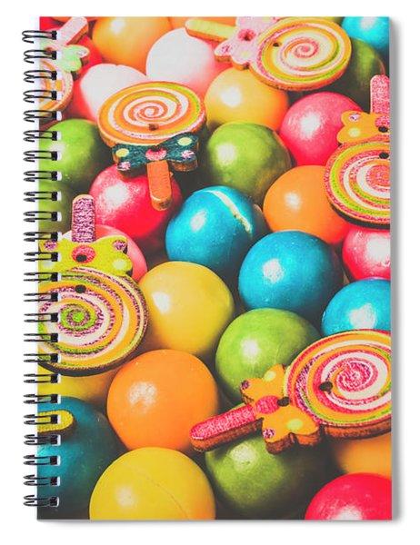 Pop Art Sweets Spiral Notebook