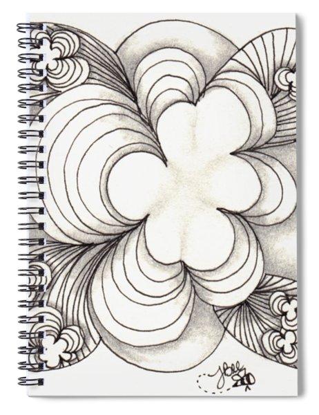 Popcloud Blossom Spiral Notebook