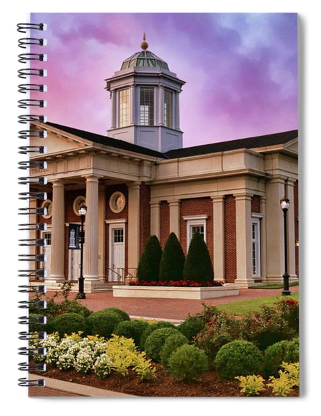 Pope Chapel Under Colorful Sky Spiral Notebook