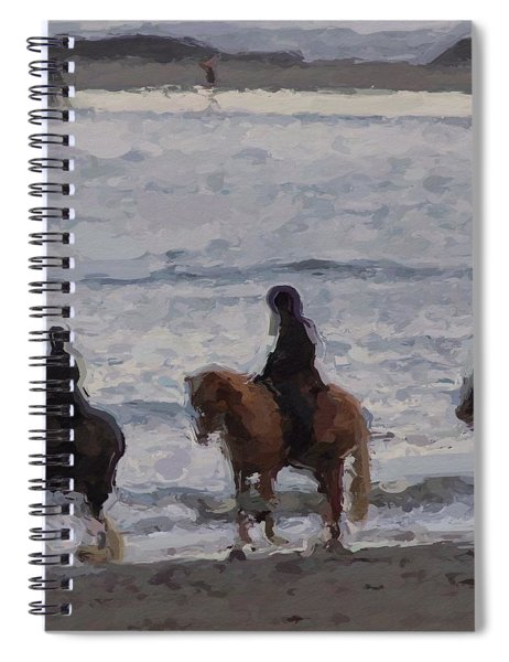 #popham Pony Ride Spiral Notebook