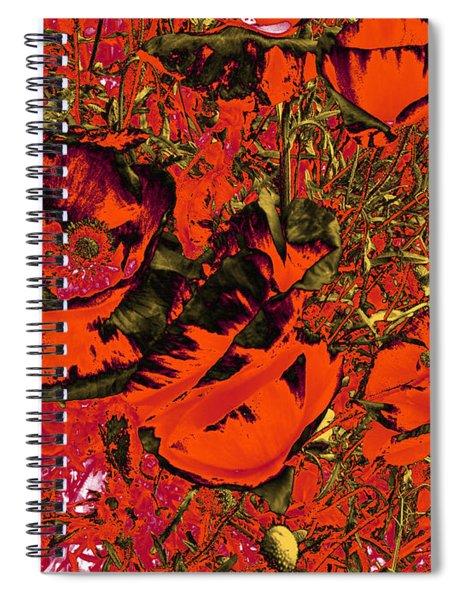 Poppies #1 Spiral Notebook