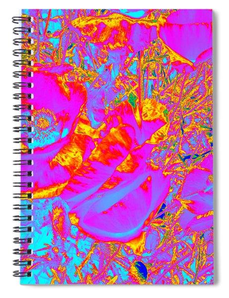 Poppies #2 Spiral Notebook