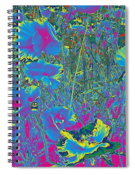 Poppies #5 Spiral Notebook