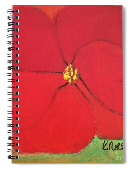 Poppy 2 Spiral Notebook
