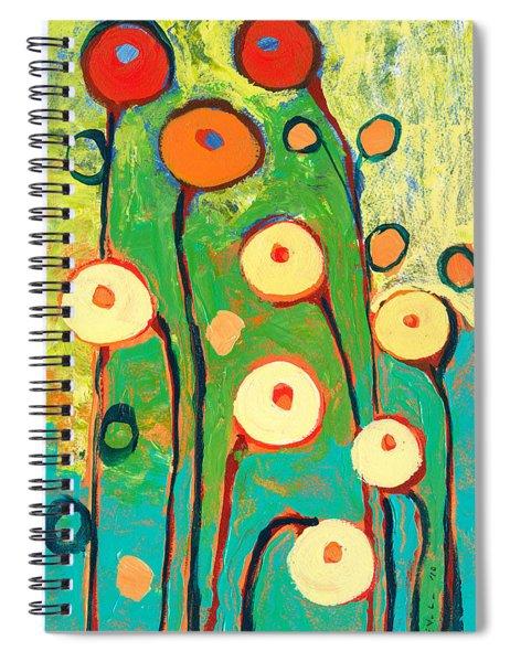 Poppy Celebration Spiral Notebook
