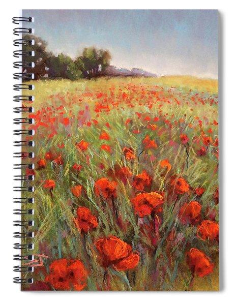 Poppy Dance Spiral Notebook