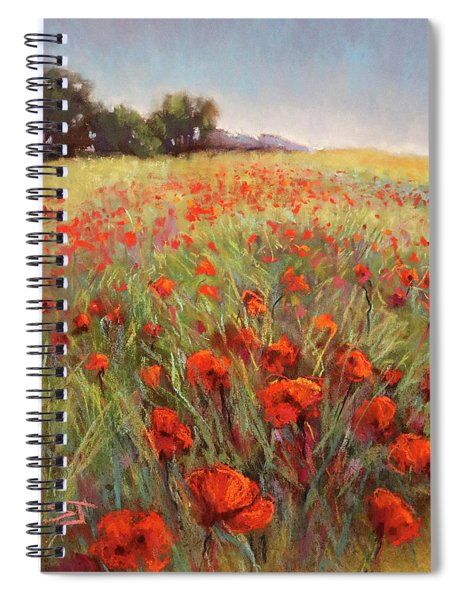 Poppy Dance Spiral Notebook