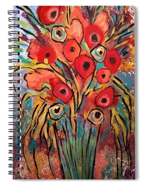 Poppy Fest Spiral Notebook