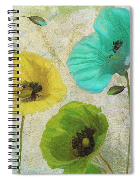 Poppy Shimmer I Spiral Notebook