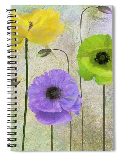 Poppy Shimmer II Spiral Notebook