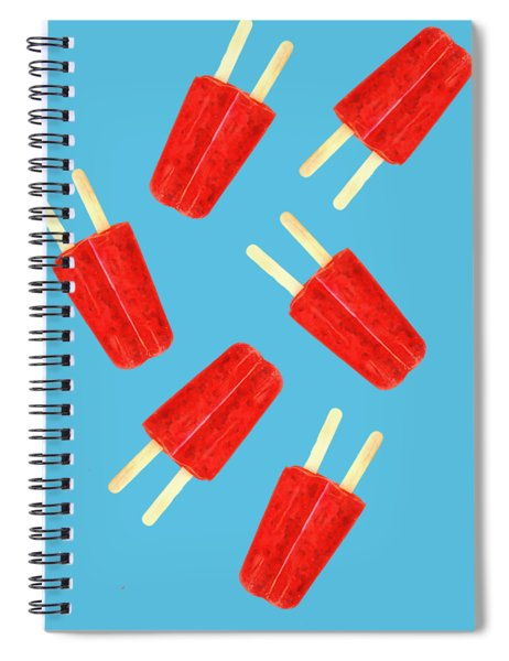 Popsicle T-shirt Spiral Notebook