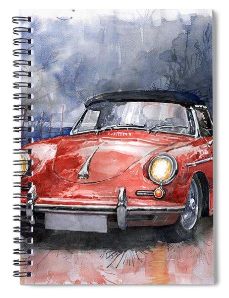 Porsche 356 B Roadster Spiral Notebook