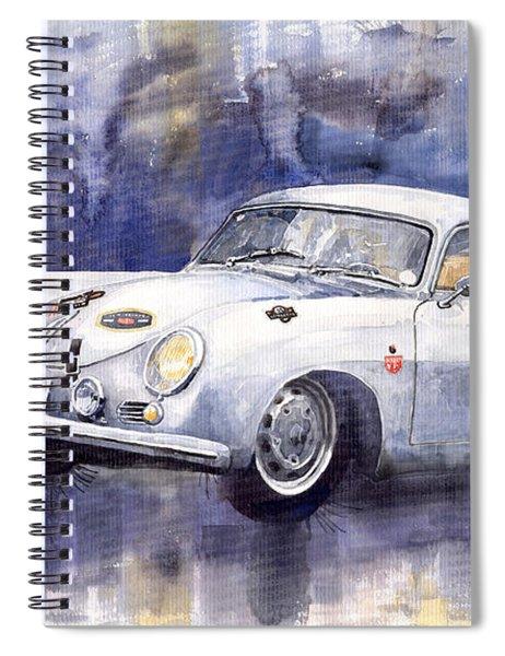 Porsche 356 Coupe Spiral Notebook
