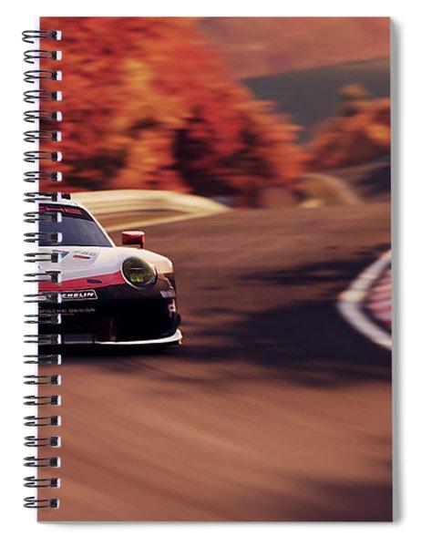 Porsche 911 Rsr, Nordschleife - 41 Spiral Notebook