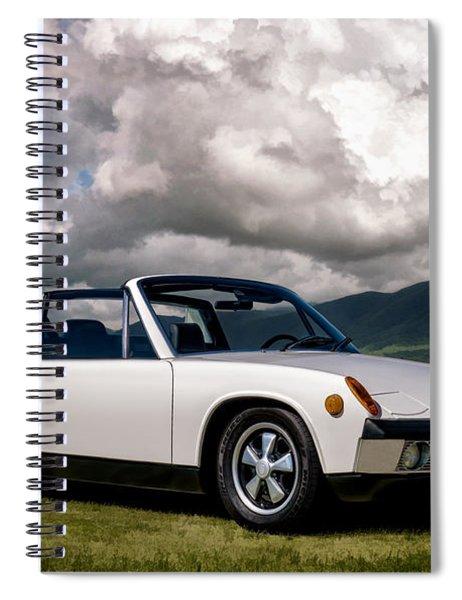 Porsche 914 Spiral Notebook