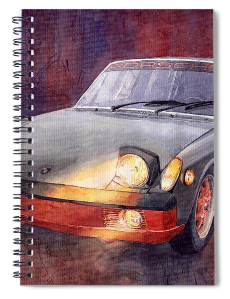 1970 Porsche 914 Spiral Notebook