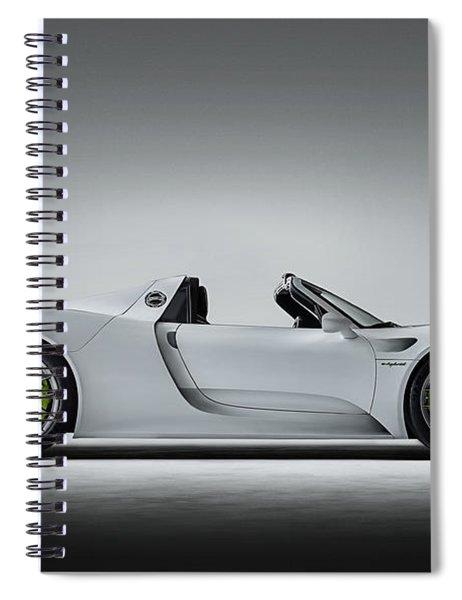Porsche 918 Spyder Spiral Notebook