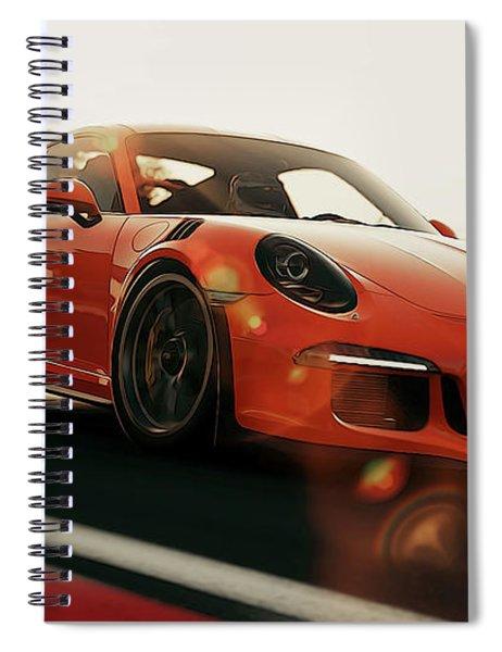 Porsche Gt3 Rs - 4 Spiral Notebook
