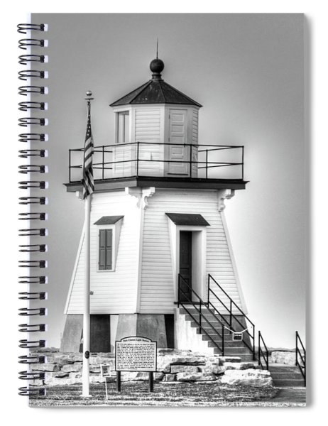 Port Clinton Light Station Spiral Notebook