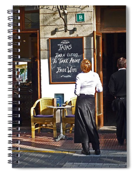 Port De Soller Spiral Notebook