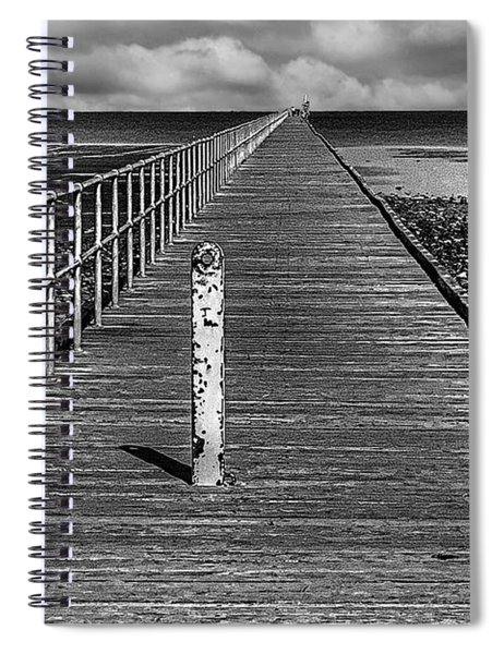 Port Germein Long Jetty Spiral Notebook