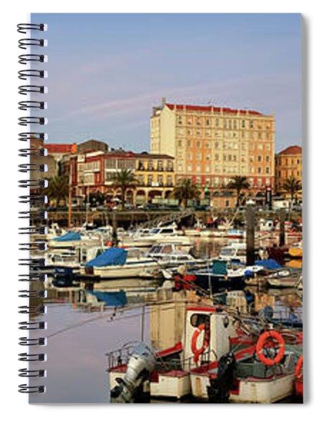 Port Of Ferrol Galicia Spain Spiral Notebook