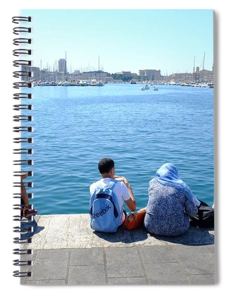 Port Picnic Spiral Notebook