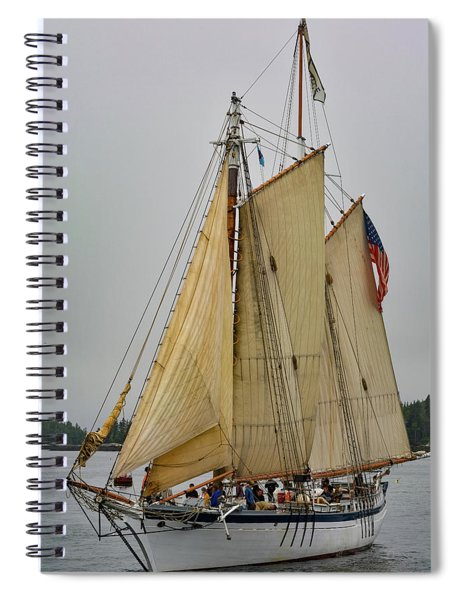 Port Side Spiral Notebook