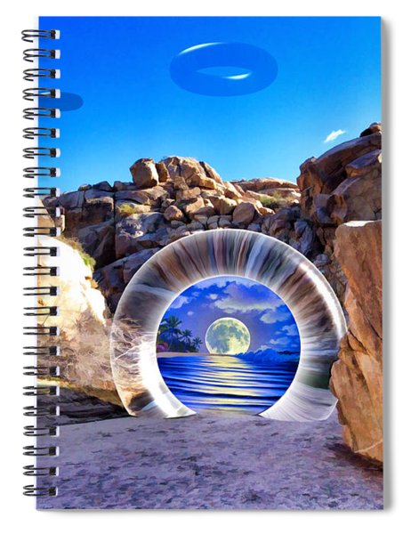 Coyote Canyon Portal Spiral Notebook