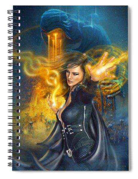 Portal Magician Spiral Notebook