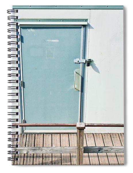 Portcabin Door Spiral Notebook