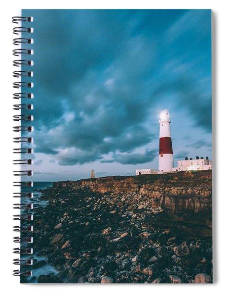 Portland Bill Dorset Spiral Notebook