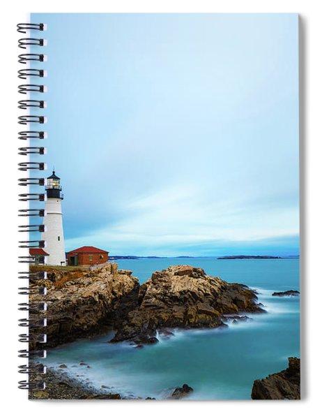 Portland Head Light 1 Spiral Notebook