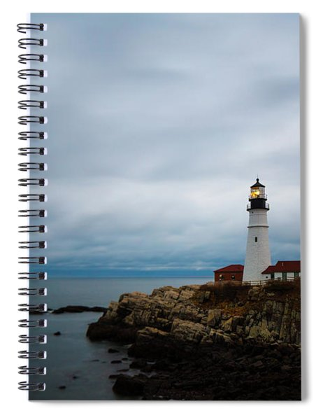 Portland Head Light 2 Spiral Notebook