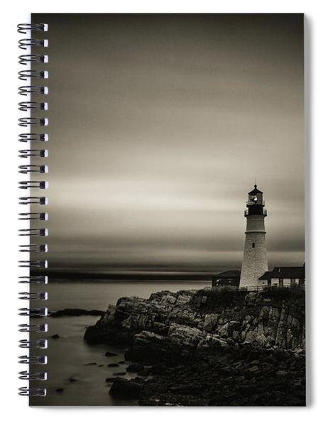 Portland Head Light 3 Spiral Notebook