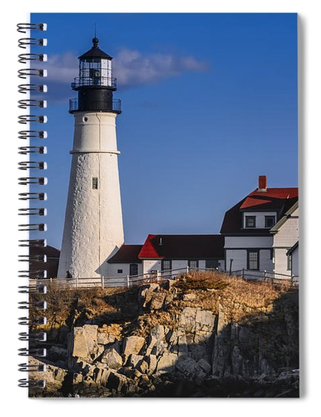 Portland Head Light No. 43 Spiral Notebook