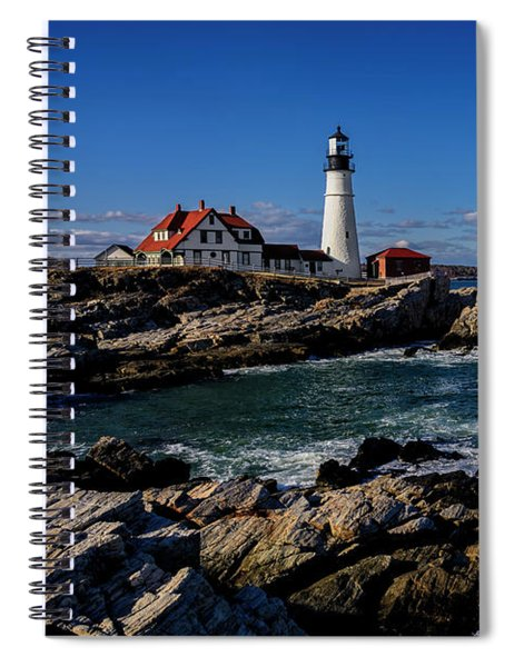 Portland Head Light No.32 Spiral Notebook