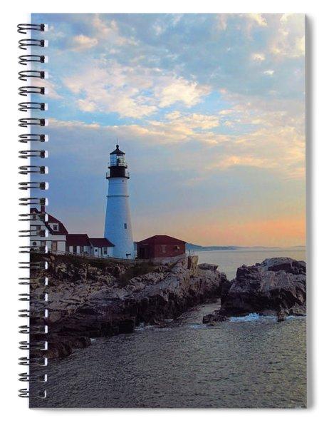 Portland Headlight Spiral Notebook